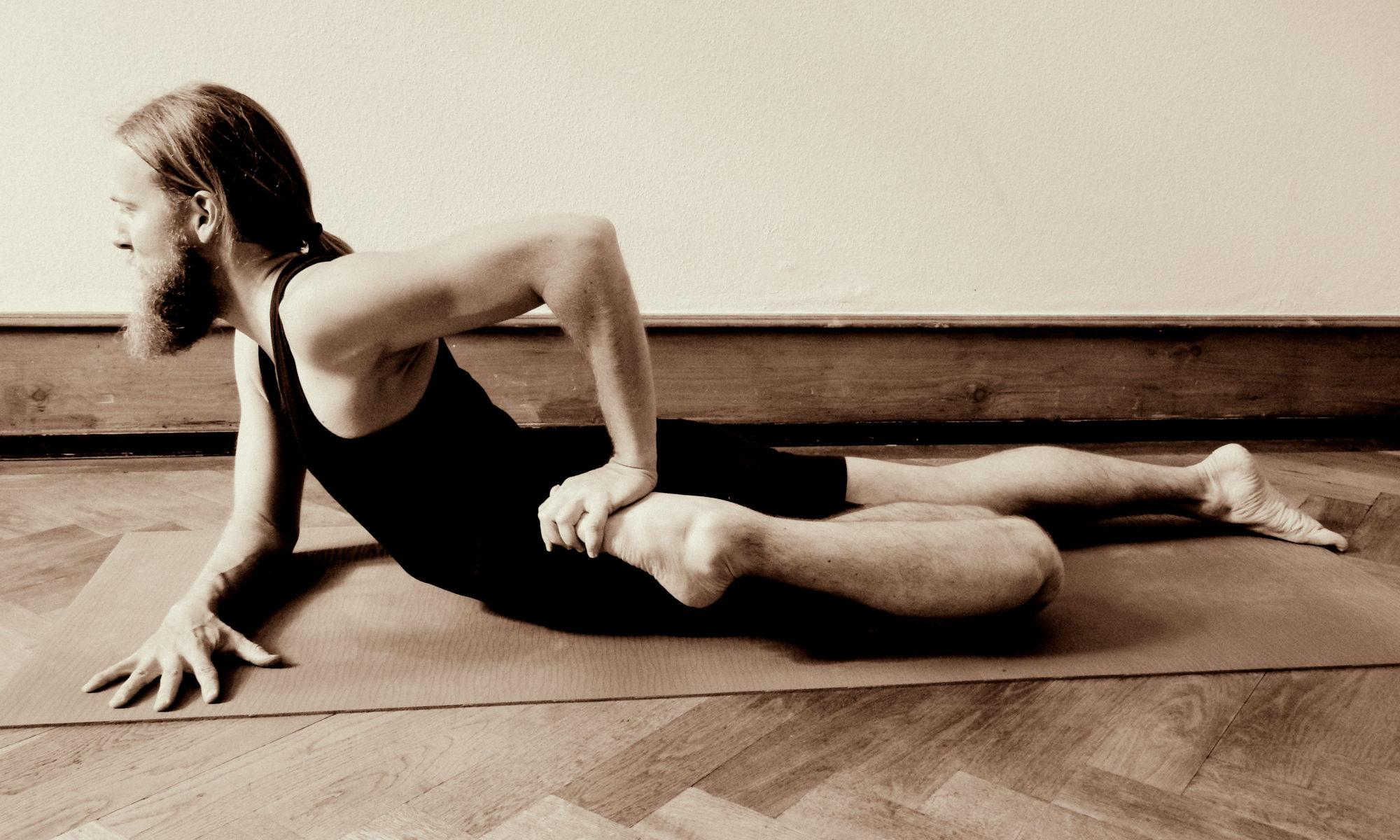 athaHatha Yoga Timo asana bekasana
