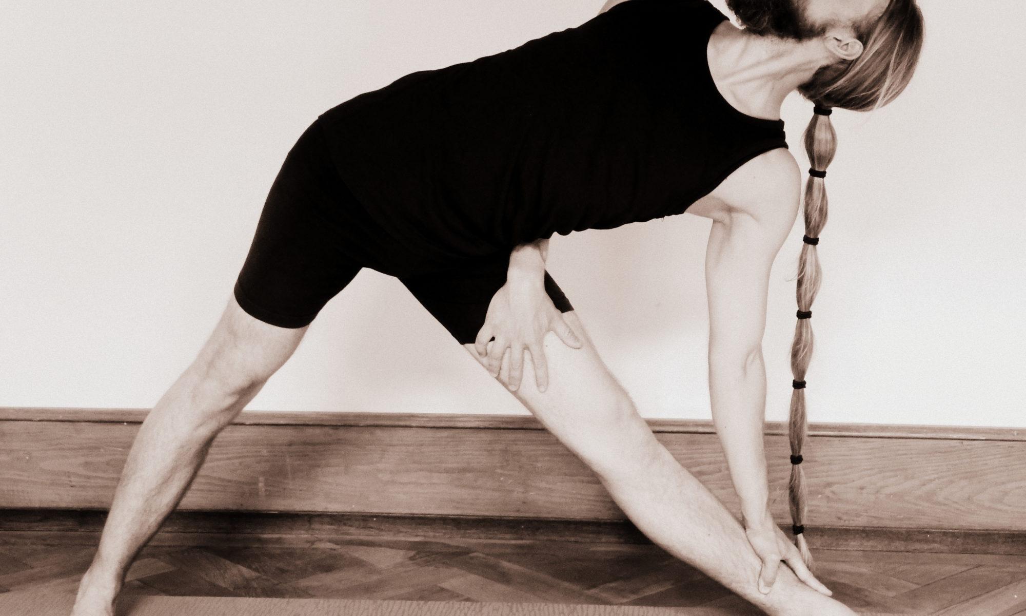 athahatha yoga in muenster trikonasana beinspirale