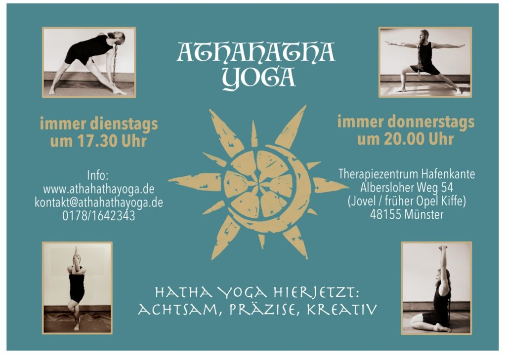 athahatha yoga münster kurse therapiezentrum hafenkante