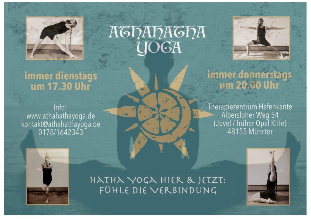 athahatha yoga muenster poster kurse